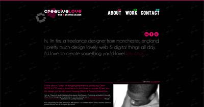 CreativeLove Website Screenshot