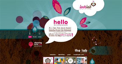Lovelab Website Screenshot