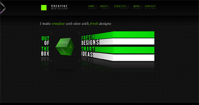 Creative Web Design Website Screenshot