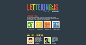Lettering.js Thumbnail Preview