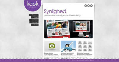 kaek Website Screenshot