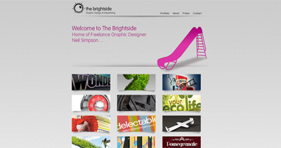 The Brightside Website Screenshot