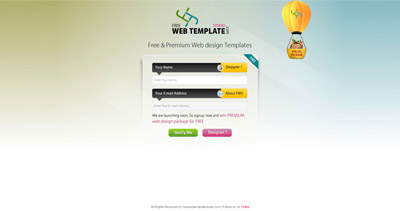Free Web Template Studio Website Screenshot