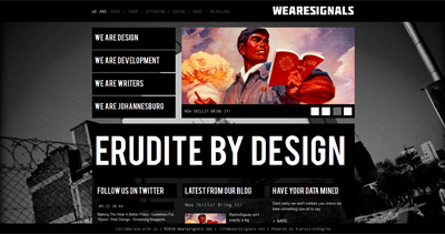 Wearesignals Website Screenshot