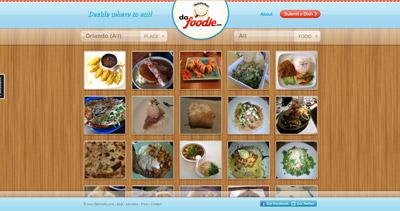 DaFoodie Website Screenshot