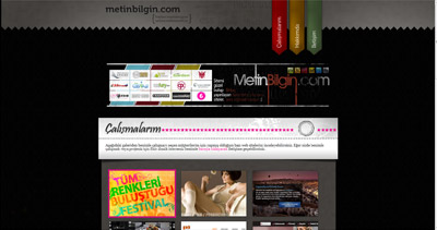 Metin Bilgin Website Screenshot