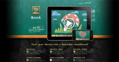 Bord Website Screenshot