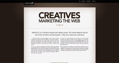 Method21 Website Screenshot