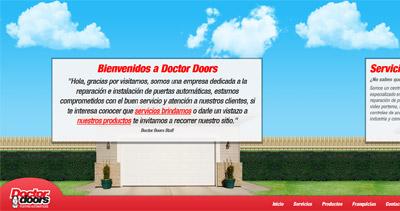Doctor Doors Website Screenshot