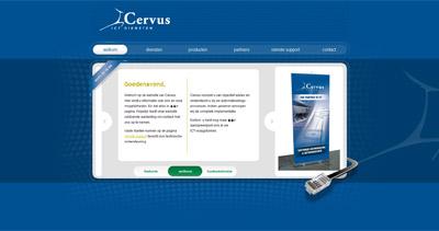 Cervus Website Screenshot