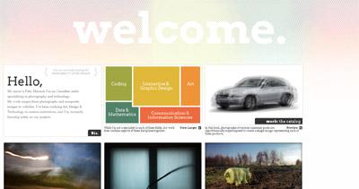 Felix Menard Website Screenshot