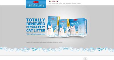 Fresh & Easy Website Screenshot