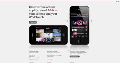 Fubiz Website Screenshot