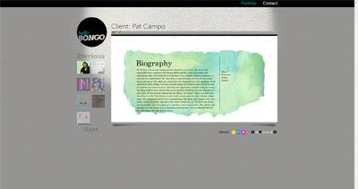 Hello Bongo Website Screenshot
