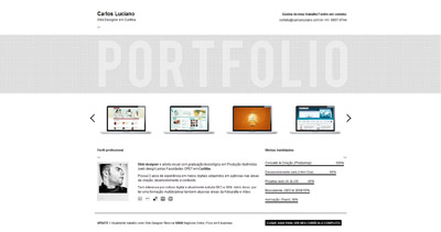 Carlos Luciano Website Screenshot
