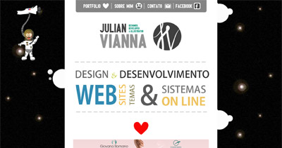 Julian Vianna Website Screenshot