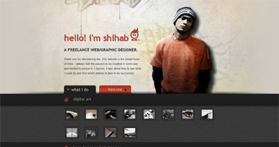 Shihab Website Screenshot