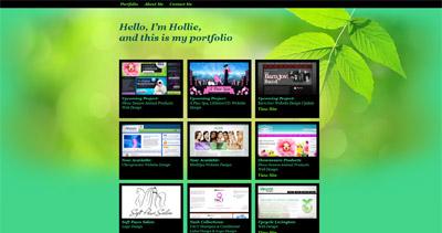 Hollie Matney Website Screenshot