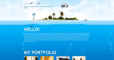 Amy Noel Photography Website Screenshot
