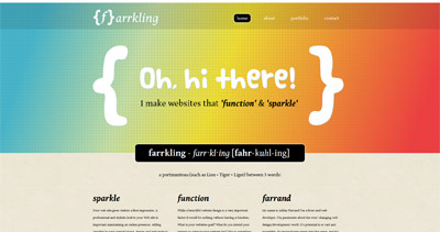 farrkling Website Screenshot