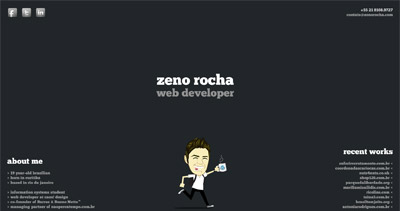 zeno rocha Website Screenshot