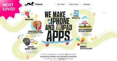 Polecat Website Screenshot
