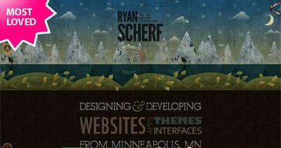 Ryan Scherf Website Screenshot