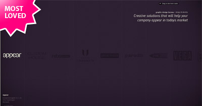 Appear Website Screenshot