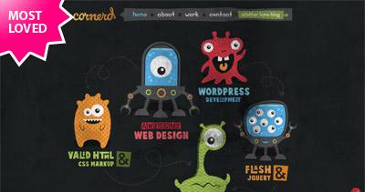 Cornerd Website Screenshot