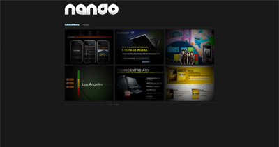 Fernando Rossetto Website Screenshot