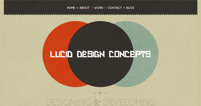 Lucid Design Concepts Website Screenshot
