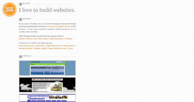PancakeSeven Website Screenshot