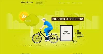 Wide View Website Screenshot