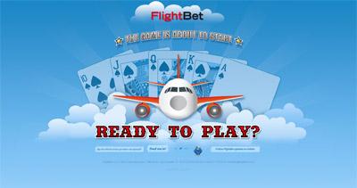 FlightBet Website Screenshot