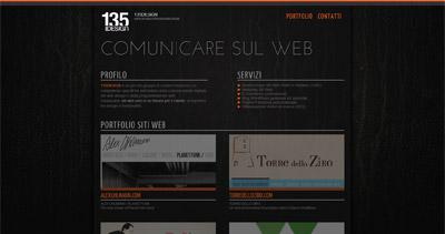 135design Website Screenshot