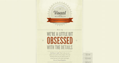 Visual Republic Website Screenshot