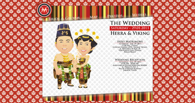 Herra & Viking Website Screenshot