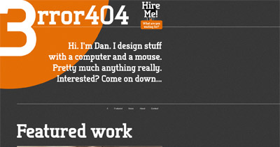 3rror404 Website Screenshot