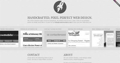Creative Rocket Website Screenshot