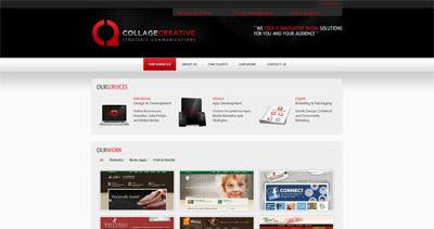 Collage Creative Website Screenshot