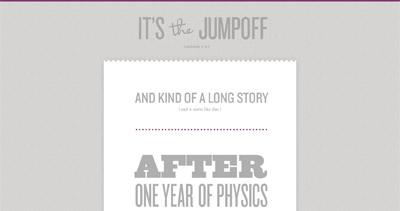It's The Jumpoff Website Screenshot