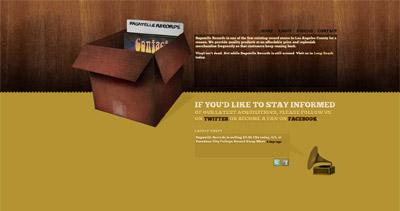 Bagatelle Records Website Screenshot