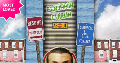 Benjamin Chirlin Website Screenshot