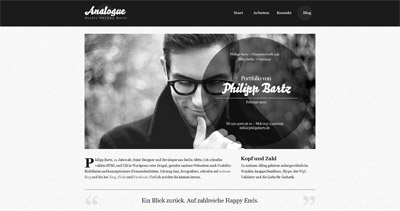 Analogue Website Screenshot