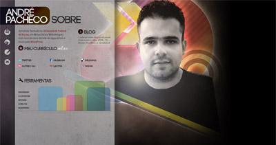 André Pacheco Website Screenshot