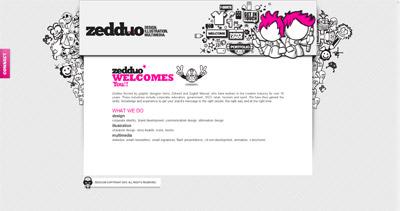 Zedduo Website Screenshot