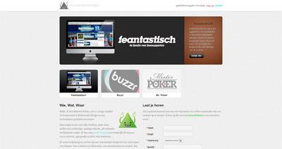Maarten Keizer Website Screenshot