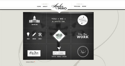 AmberMiro Website Screenshot