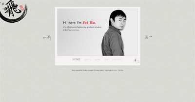 Fei Hu Website Screenshot