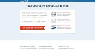 EasyHTML Website Screenshot